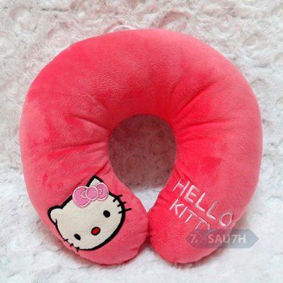 Gối chữ U Hello Kitty