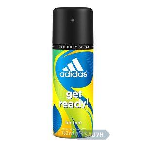 Xịt khử mùi toàn thân Adidas Get Ready nam