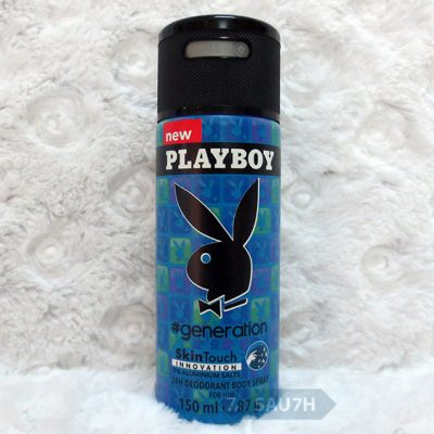 Xịt khử mùi toàn thân Playboy Generation nam