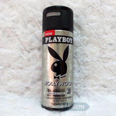 Xịt khử mùi toàn thân Playboy Hollywood mới 2016
