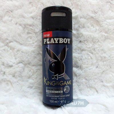 Xịt khử mùi toàn thân Playboy King of The Game