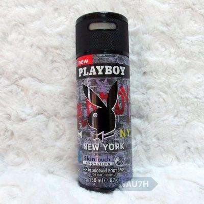 Xịt khử mùi toàn thân Playboy NewYork