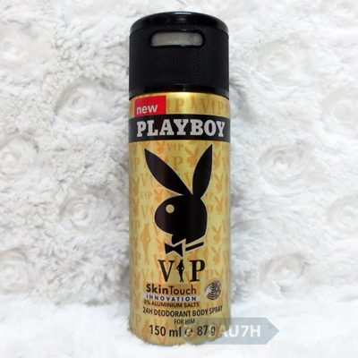 Xịt khử mùi toàn thân Playboy Vip nam