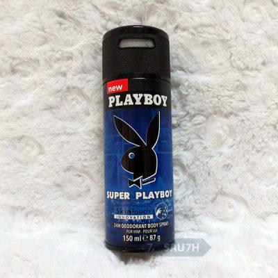 Xịt khử mùi toàn thân Super Playboy nam mới 2016