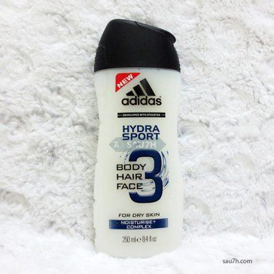 Sữa tắm gội toàn thân Adidas Hydra Sport nam 3 trong 1