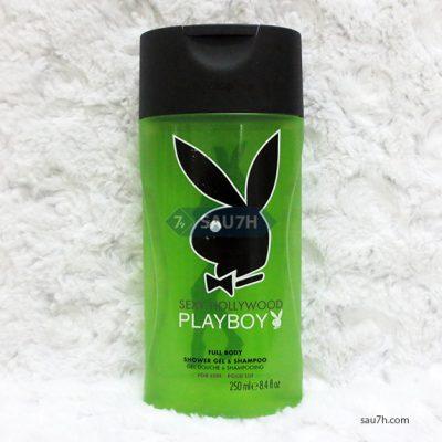Sữa tắm gội toàn thân Playboy Hollywood nam