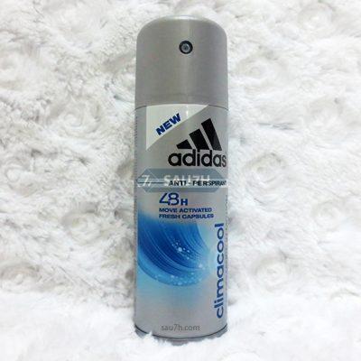 Xịt khử mùi toàn thân Adidas Climacool nam