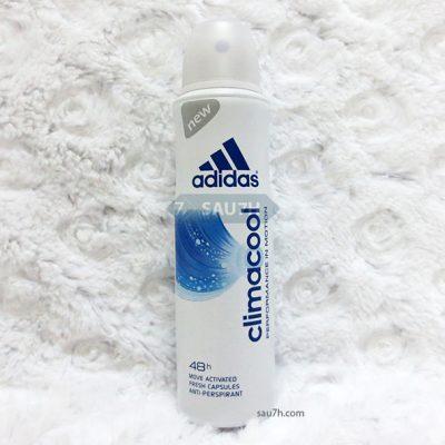 Xịt khử mùi toàn thân Adidas Climacool nữ