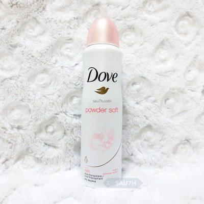Xịt khử mùi Dove Powder Soft