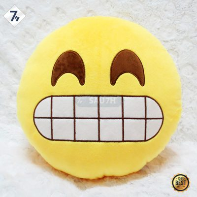 Gối icon cảm xúc Cười nhe răng