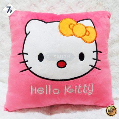 Gối tựa lưng Hello Kitty hồng