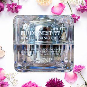 Kem Dưỡng Trắng Và Ngăn Ngừa Lão Hóa Tinh Chất Tổ Yến Cao Cấp –  SNP Bird's Nest W+ Brightening Cream