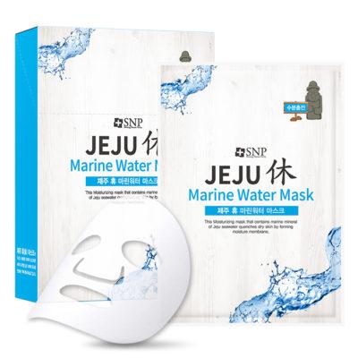 Mặt Nạ Dưỡng Da SNP Jeju Marine Water Mask Nước Biển Sâu Jeju Cấp Ẩm