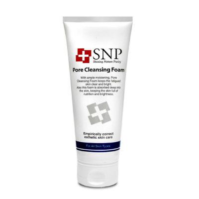 Sữa Rửa Mặt Se Khít Lỗ Chân Lông – SNP Pore Cleansing Foam