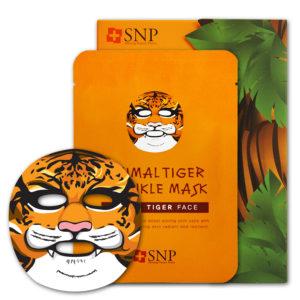 Mặt Nạ Dưỡng Da Hình Thú Hổ SNP Animal Tiger Wrinkle Mask Chống Lão Hóa