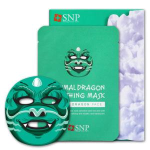 Mặt Nạ Dưỡng Da Hình Thú Rồng SNP Animal Dragon Soothing Mask Da Mụn Nhạy Cảm