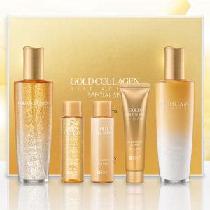 Bộ Set SNP Gold Collagen LIFT ACTION Chống Lão Hóa