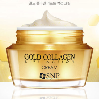 Kem Dưỡng SNP Gold Collagen Lift Action Cream