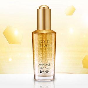 Tinh Chất Dưỡng Da SNP Gold Collagen Lift Action Ampoule
